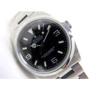 ROLEX Explror I 114270 Z Serial Steel Automatic Mens Watch