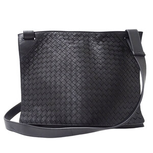 Bottega Veneta Intrecciato Shoulder Bag Leather
