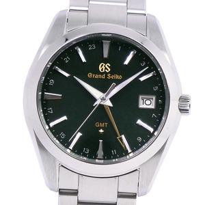 GRAND SEIKO GMT 9F SBGN007 LTD Edition Steel Quartz Mens Watch 9F86-0AC0