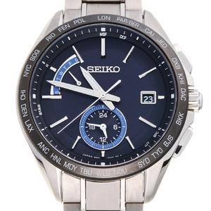 SEIKO Brightz Titanium Solar Mens Watch SAGA235 (8B63-0AB0)