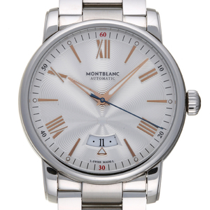 MONTBLANC 4810 Date Stainless Steel Automatic Mens Watch 114852