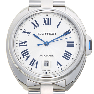 CARTIER Cre de Cartier Stainless Steel Automatic Mens Watch WSCL0007