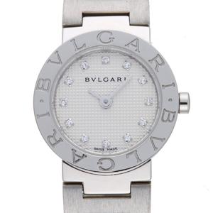 BVLGARI BVLGARI-BVLGARI Diamond Steel Quartz Ladies Watch BB23WSS