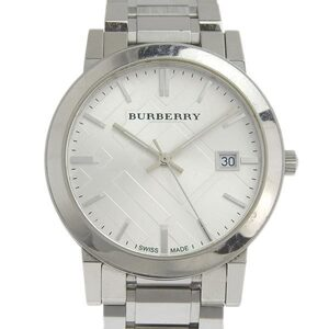 BURBERRY The City Stainless Steel Quartz Mens Watch BU9000