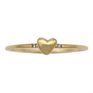 AHKAH Diary Yellow Gold (18K) Casual Diamond Anniversary Ring Yellow Gold