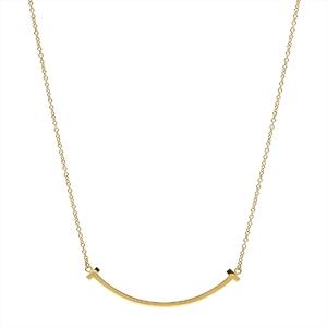 Tiffany Tiffany T T Smile Yellow Gold (18K) Pendant (Yellow Gold)