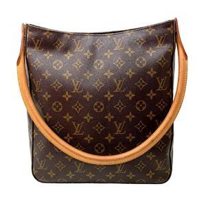LOUIS VUITTON Louis Vuitton Looping Shoulder Bag Gold Hardware Monogram M51145