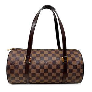 LOUIS VUITTON Louis Vuitton Papillon GM Handbag Ladies Shoulder Bag Gold Hardware Damier N51303
