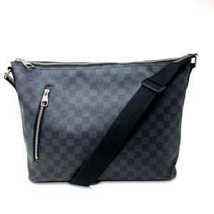 LOUIS VUITTON Louis Vuitton Mick MM Shoulder Bag Men's Silver Hardware Damier Graffit N41106