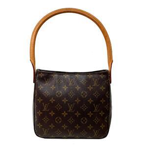 LOUIS VUITTON Louis Vuitton Looping MM Shoulder Bag Ladies Gold Hardware Monogram M51146