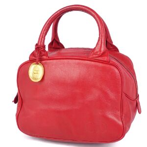 Christian Dior Mini Handbag Ladies Leather