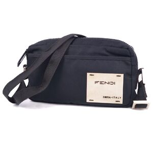 Fendi FENDI Shoulder bag with plate Crossbody Ladies Men
