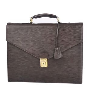FENDI Epi Leather Briefcase Business Bag Men's