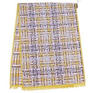 Hermes HERMES Bolduc shawl stole scarf silk cashmere ladies