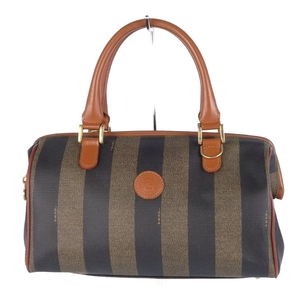 Fendi FENDI Pecan Mini Boston Bag Handbag Leather