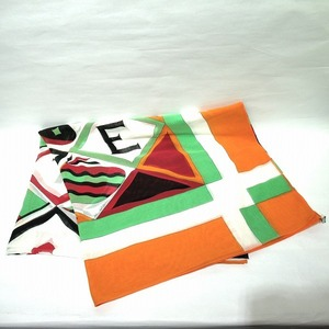 Hermes Multicolor Stall Cotton Ladies