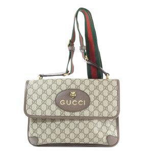 Gucci 495654 GG Sherry Line Shoulder Bag PVC Ladies