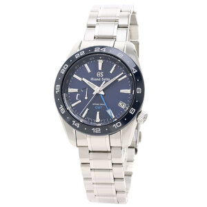GRAND SEIKO GMT SBGE255 Steel Spring Drive Mens Watch 9R66-0BB0