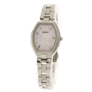 SEIKO Lukia SSQW025 Titanium Solar Ladies Watch
