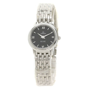 OMEGA De Ville Prestige Stainless Steel Quartz Ladies Watch 424.10.24.60.01.001