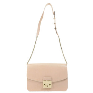 Furla BHV7 Metropolis S Shoulder Bag Leather Ladies