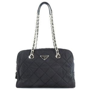 Prada Chain Tote Bag Ladies