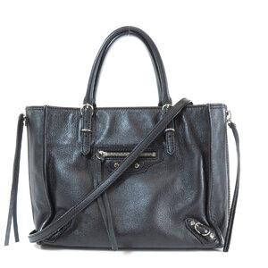 Balenciaga Paper Mini Tote Bag Leather Ladies