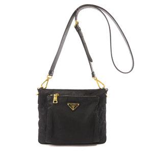 Prada logo mark shoulder bag ladies