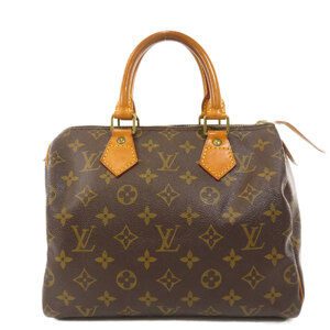 Louis Vuitton M41528 Speedy 25 Monogram Boston Bag Canvas Ladies