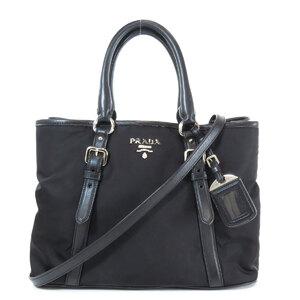 Prada BN2832 2WAY Handbag Leather Ladies