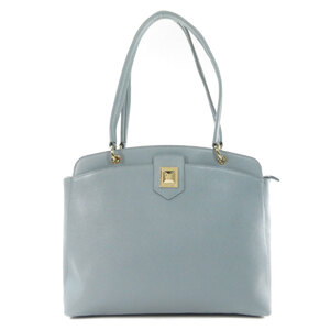 Furla logotype tote bag leather ladies
