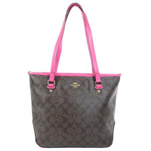 Coach F23867 Signature Tote Bag PVC Ladies