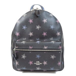 Coach F79964 Star Motif Backpack Daypack Leather Ladies