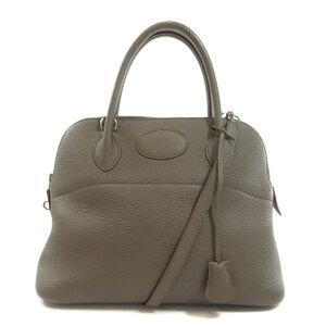 Hermes Bored 31 Silver Hardware Etan Handbag Taurillon Ladies