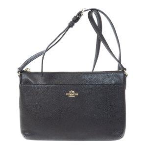 Coach F57788 Logo Shoulder Bag PVC Ladies