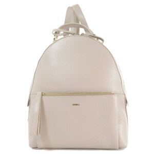 Furla logo motif rucksack daypack leather ladies