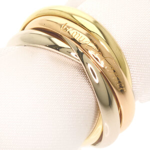 Cartier Trinity Ring 5 Rings K18 Yellow Gold Ladies