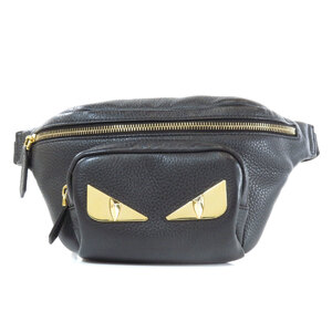 Fendi Monster Hip Bag Waist Leather Unisex