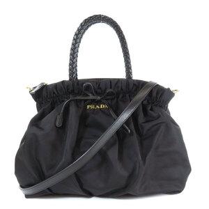 Prada BN1778 2WAY Handbag Leather Ladies