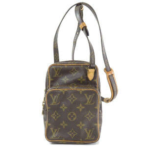 Louis Vuitton M45238 Mini Amazon Monogram Shoulder Bag Canvas Ladies