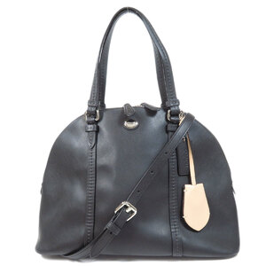 Coach F25671 2WAY Handbag Leather Ladies