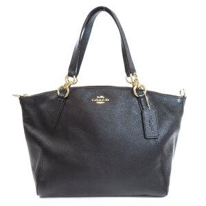 Coach F28993 Logo Tote Bag Leather Ladies