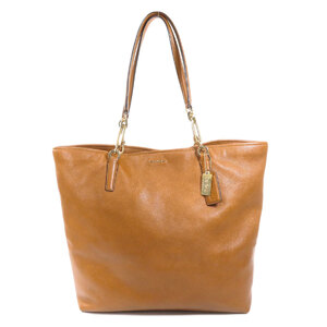 Coach 26225 Logo Tote Bag Leather Ladies