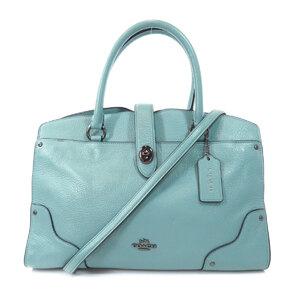 Coach 37575 2WAY Tote Bag Leather Ladies