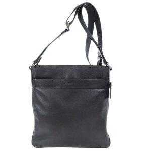 Coach F54780 logo embossed shoulder bag leather men's