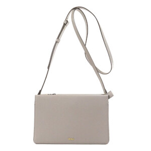 Furla logo motif shoulder bag leather ladies