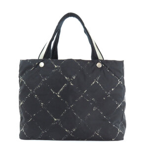 Seal Chanel Travel Line Tote Bag Ladies