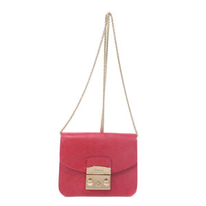 Furla Metropolis Shoulder Bag Leather Ladies