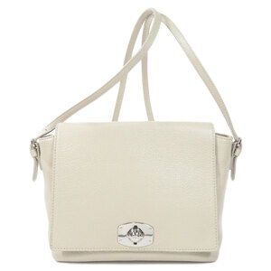 Furla logo shoulder bag leather ladies
