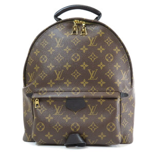 Louis Vuitton M44874 Palm Springs MM Monogram Backpack Daypack Canvas Ladies